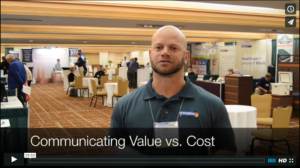 Communicating Value vs Cost